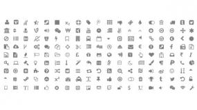 常用PPT小Icon矢量图标 任意修改颜色