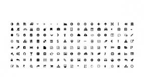 矢量小图标 Icon办公PPT直接使用改颜色