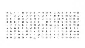 常用办公小图标矢量Icon PPT图标