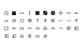 创意箭头Icon小图标 线性图标PPT图标下载