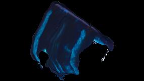 蓝色油漆效果 高清PNG免抠图PPT素材