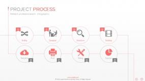 PPT图表技能特点特性观点罗列创意图表素材