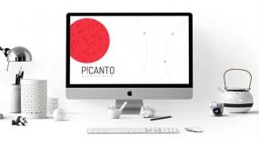 【简约】创意现代简约设计 蓝色个性项目介绍PPT免费模板