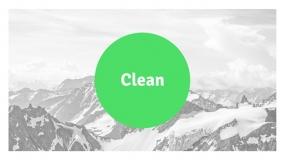 【绿色环保】适合健康生活 有机农业 蔬菜食品等领域的PPT免费模板