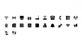 智能通讯设备相关的Icon小图标