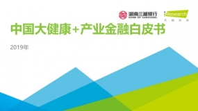 50页:艾瑞研究《2019中国大健康+产业金融白皮书》报告(附下载)