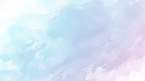 淡淡的中国风水彩晕染PPT背景图片素材