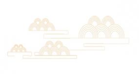 祥云、圆形图案,中国风的标配素材