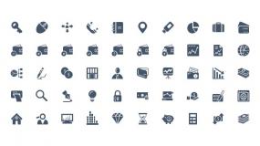 实用职场元素相关矢量Icon