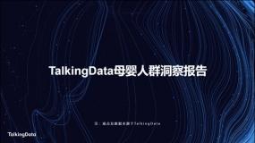 TalkingData母婴人群洞察报告(附下载)