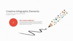 【100页】多彩简约设计的项目填策划PPT逻辑图表模板