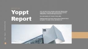 一套金色+深色背景适合高端奢侈品行业的商业计划书PPT模板免费下载