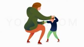母亲与小孩玩耍免费下载png