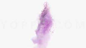 炫彩烟雾缭绕效果透明格式