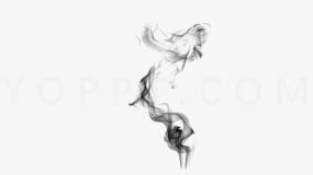 精致烟雾缭绕素材免抠图片