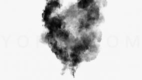 简约动感烟雾效果免抠图片