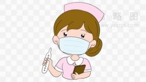 疫情防控护士效果免抠