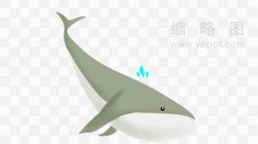超具艺术范的鲸鱼图片素材33 PNG透明图片