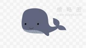 文艺鲸鱼素材76 免费png素材