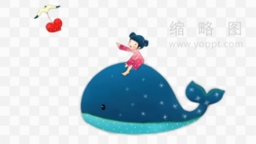 鲸鱼素材97 PNG透明图片