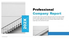 青绿与浅蓝搭配适合3C数码产品宣传PPT模板(35页)