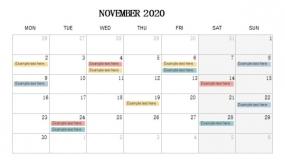 2020年11月份工作回顾PPT设计