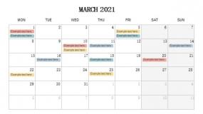 2021年3月份营销规划PPT设计