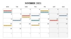 2021年11月份招聘计划PPT设计