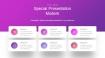 魅力紫色工作汇报PPT图表下载(4)