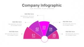 魅力紫色工作汇报PPT图表下载(233)